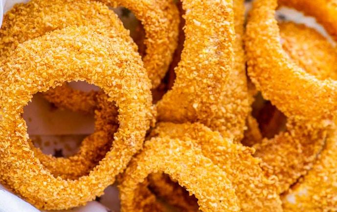 Receita de Onion Rings