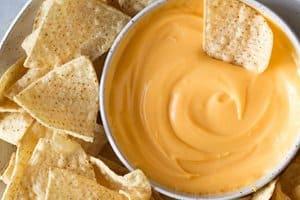 Molho de queijo para Nacho