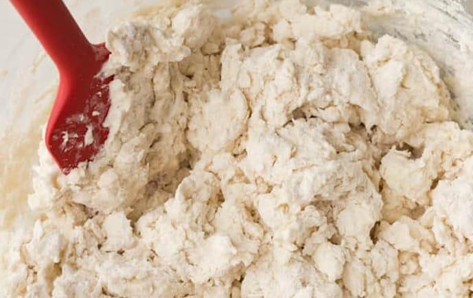 massa de Biscoito de Queijo