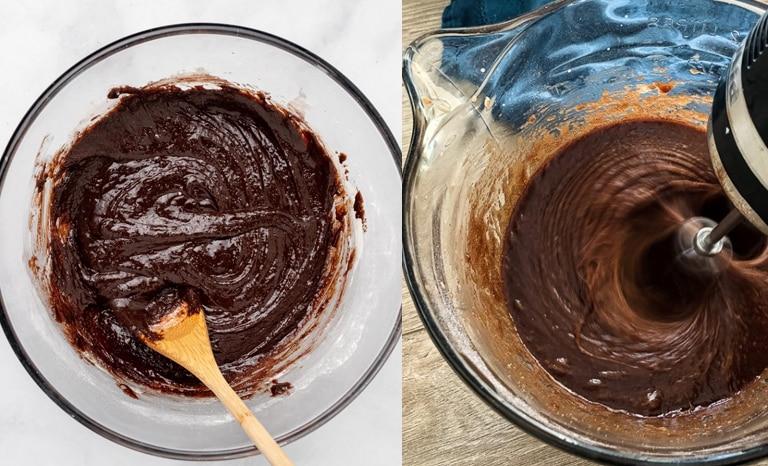 ovo de pascoa brownie