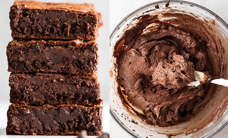 massa ovo brownie