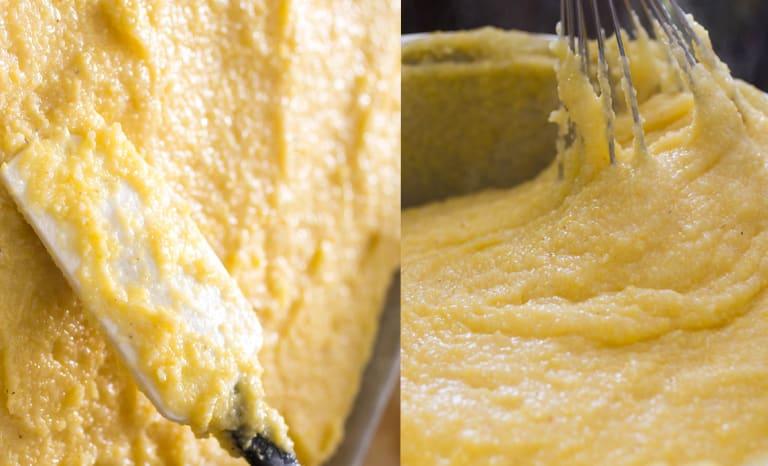 receita polenta cremosa